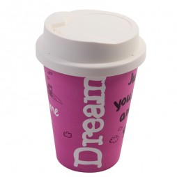 Coffee Cup Lamp (Pink) - Promotional Lamp
