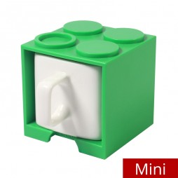 Cube Mug Mini (Green) - Promotional Mug