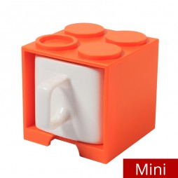 Cube Mug Mini (Orange) - Promotional Mug