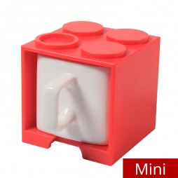 Cube Mug Mini (Red) - Promotional Mug