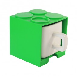 Cube Mug (Green) - Promotional Mug