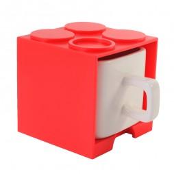 Cube Mug (Red) - Promotional Mug