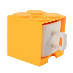 Cube Mug (Yellow) - Promotional Mug