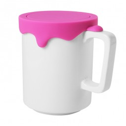 Paint Mug (Tall-Pink) - Promotional Mug