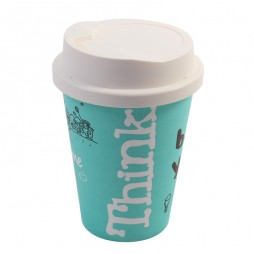 Coffee Cup Lamp (Blue)