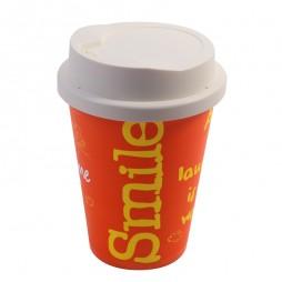 Coffee Cup Lamp (Orange)
