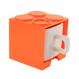 Cube Mug (Orange)