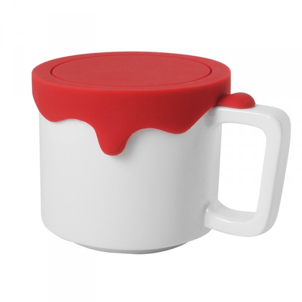 Paint Mug (Medium-Red)